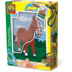 Broderie Cheval SES