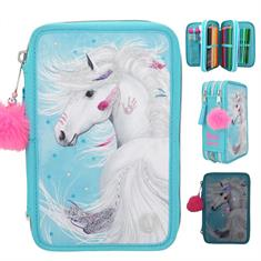 Trousse Avec Led 3-Compartiments Ponpon Miss Melody